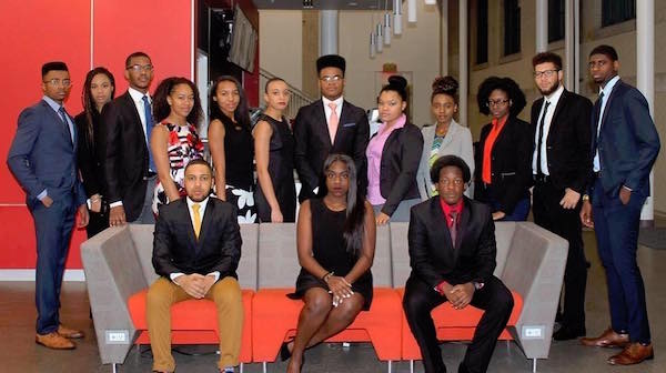 CMU's chapter of National Society of Black Engineers members